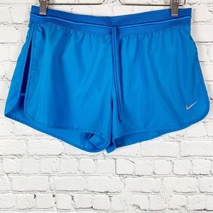 Nike Pacific Blue Dri-Fit Running Shorts Lined